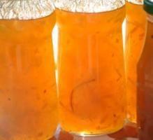 Recette - Confiture de citre à l'orange et vanille - Proposée par 750 grammes