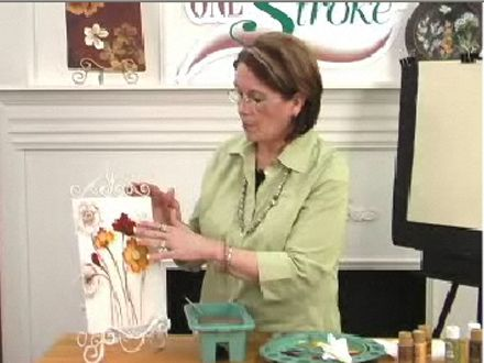 Painting Poppies with Donna Dewberry Pt. 1