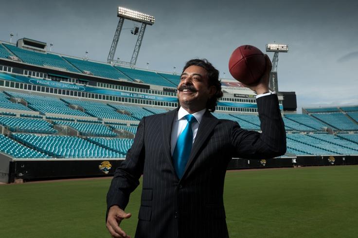 Shahid Khan : Owner of Jacksonville Jaguars.