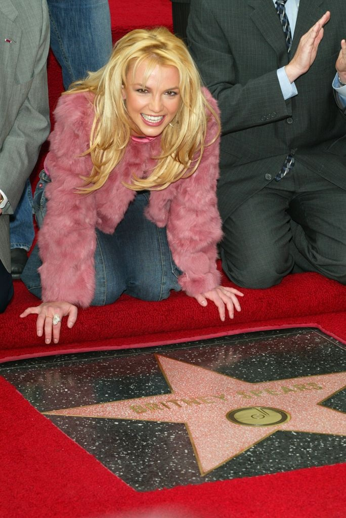 Image result for britney spears walk of fame star