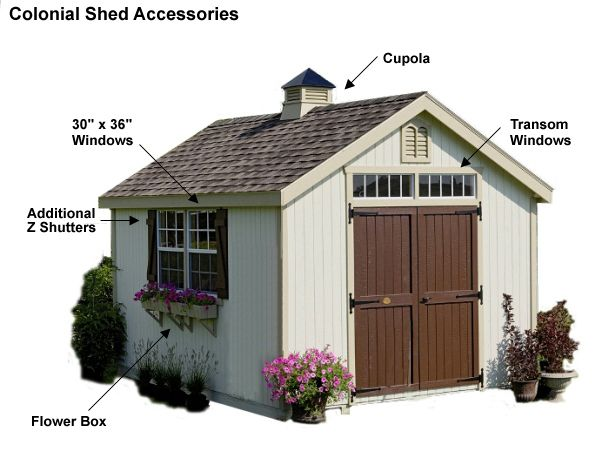 Weathervanes >> cupola brown accent shed | Greenhouse Shed | Pinterest
