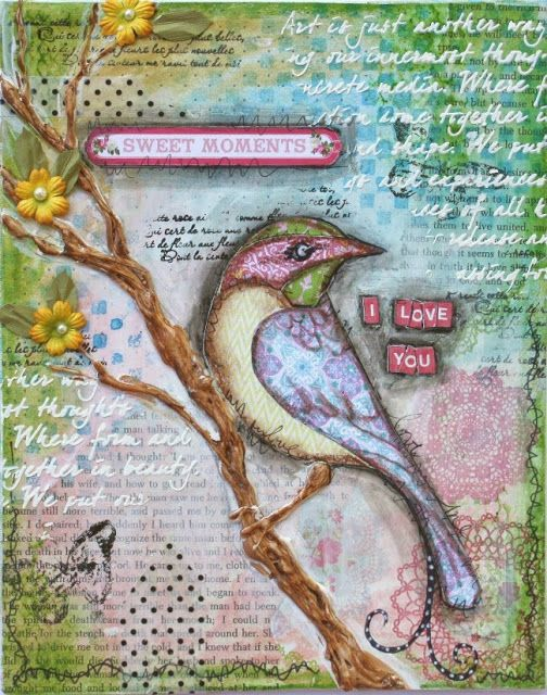 Such a Pretty Mess: Mixed Media with Websters Pages! {VIDEO TUTORIAL}