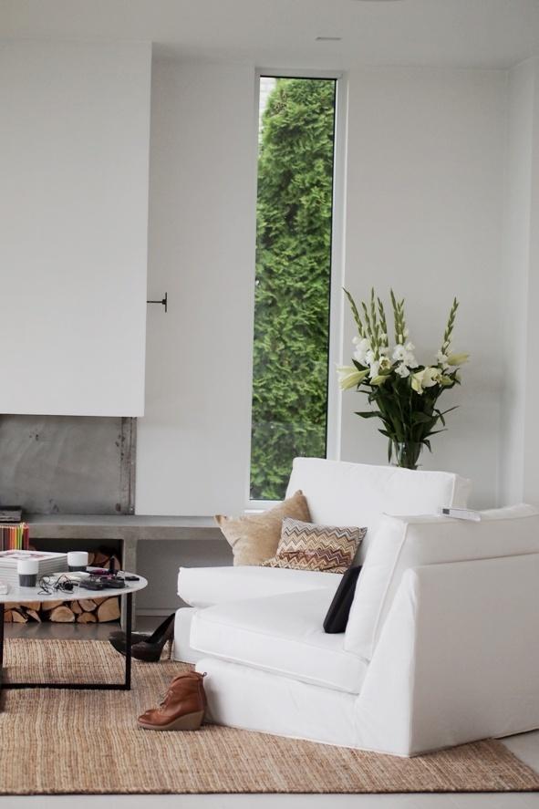 Beautiful flat in Stockholm. Great window.