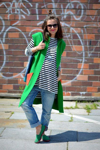 sustainable fashion - NOSENE 2nd hand vest