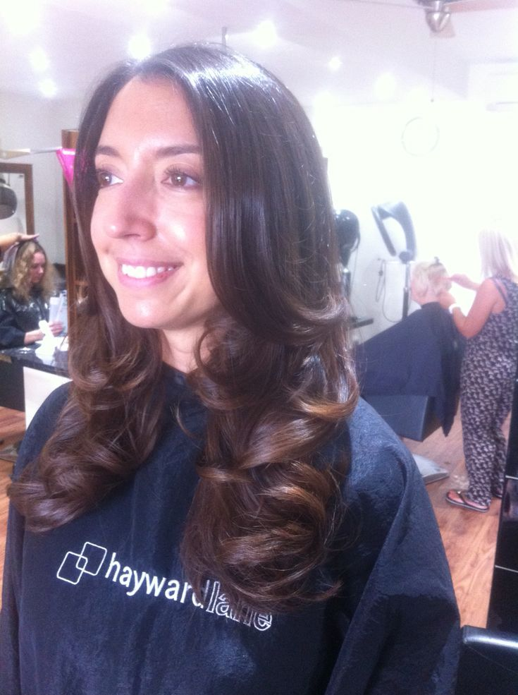 Beautiful curly blowdry!