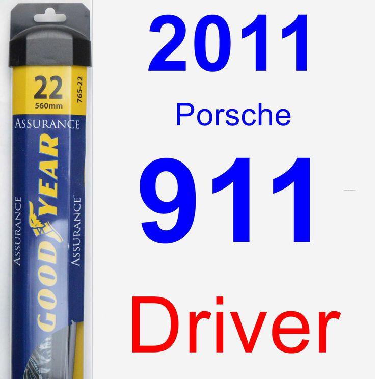 Driver Wiper Blade for 2011 Porsche 911 - Assurance