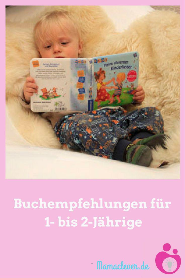 Eine Liste empfehlenswerter Kinderbücher für Kinder unter 2 Jahren.