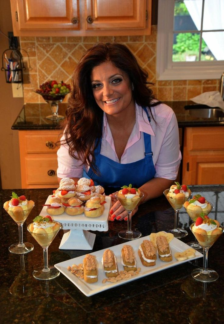 kathy wakile nydailynews | Kathy Wakile surrounded by some of the goodies from her new dessert ...