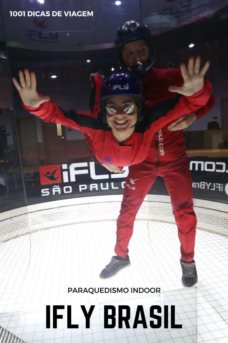 Paraquedismo Indoor - IFLY São Paulo, Brasil - Fui conhecer e testar essa modalidade esportiva | 1001 Dicas de Viagem