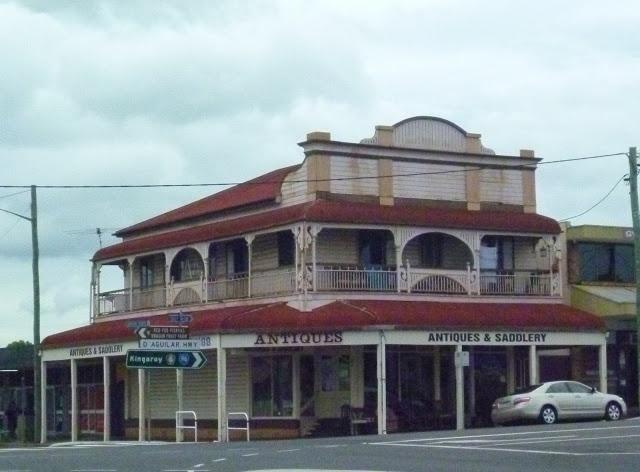 The old Nobby's Corner Store. Nanango, Queensland, Australia