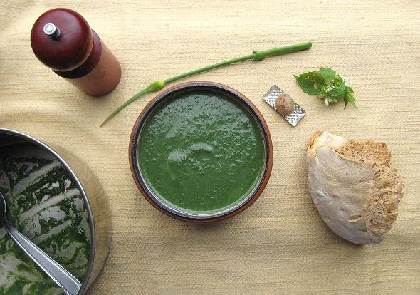 ricette al verde: Zuppa d'Ortica