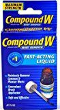Compound W Wart Remover, Maximum Strength, Fast-Acting Gel #1 Best Sellerin Wart Removal Products only $13.92 from https://www.amazon.com/Compound-Remover-Strength-Fast-Acting-0-25-Ounce/dp/B001G7QRE4/ref=as_li_ss_tl?_encoding=UTF8&psc=1&refRID=3PSGNAG87N