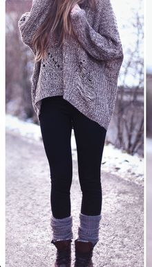 cute oversized sweater