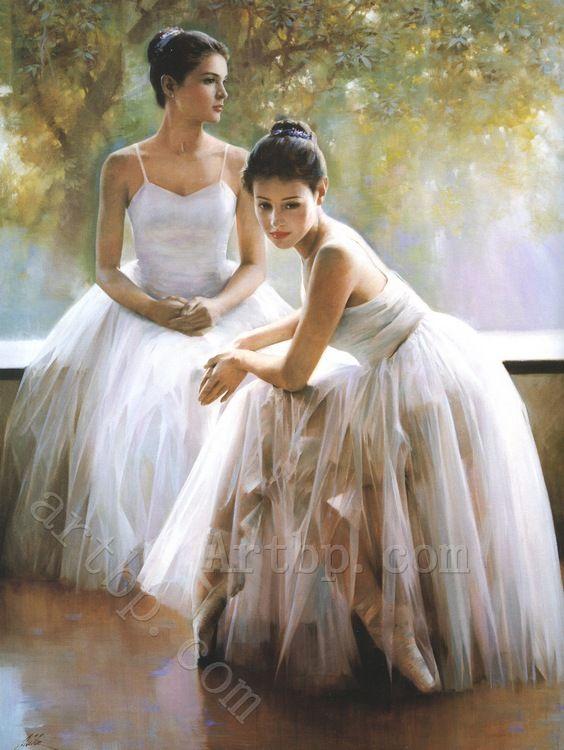 balerina paintings monet - Google keresés