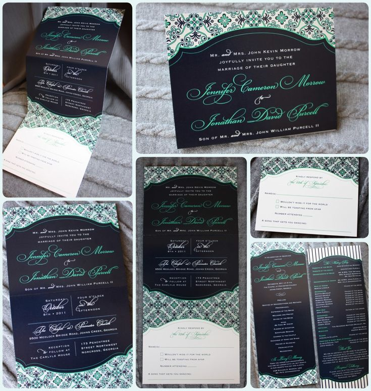 Google Image Result for http://emdotzee.com/blog/wp-content/uploads/2011/10/Navy-Green-and-Gray-Flourish-Pattern-Vertical-Trifold-Wedding-Invitations-and-Programs-973x1024.jpg