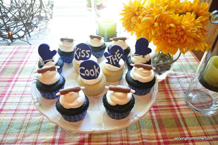 Pampered chef kitchen themed bridal shower party ideas for Chef themed kitchen ideas