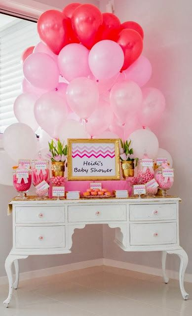 Ombre Pink Baby Shower by Perfectly Sweet