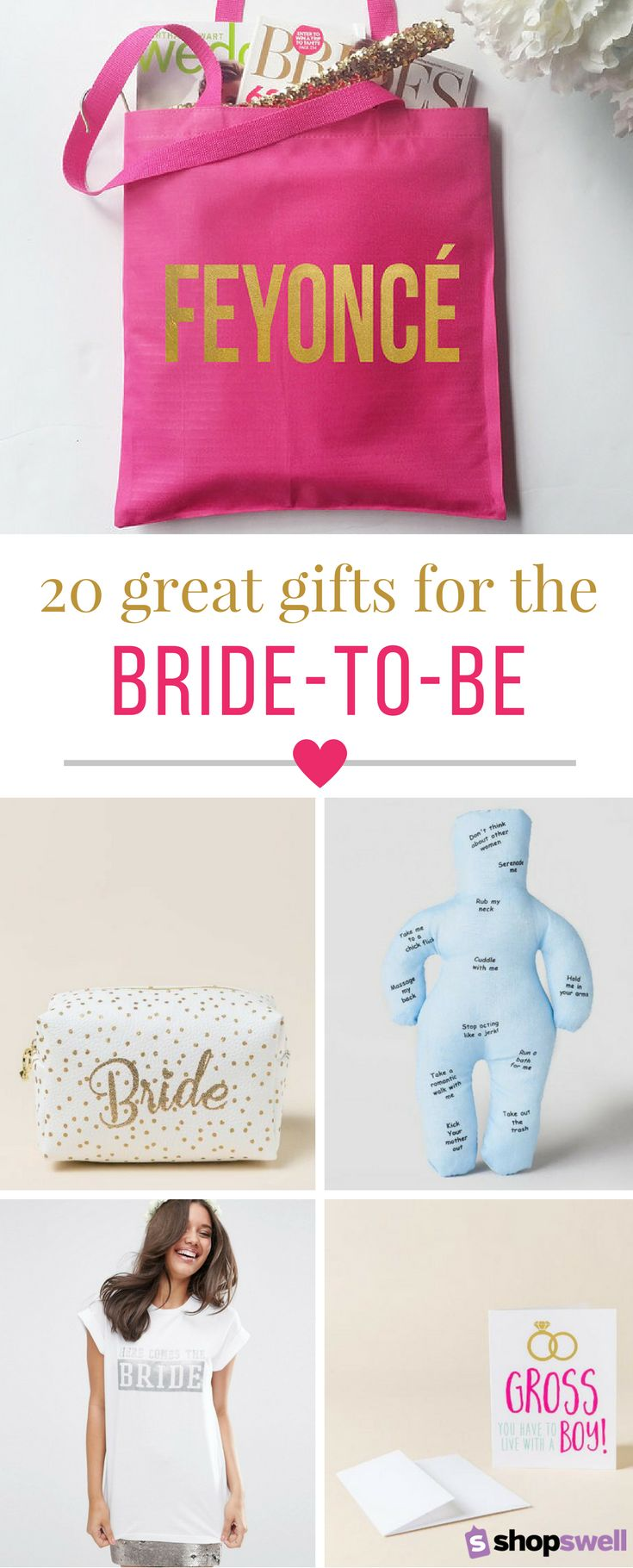 Fun, enviable, chic, gifts for the bride to be. Shop the Feyonce wedding collection now.
