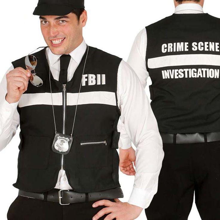 Gilet Police FBI #déguisementsadultes #costumespouradultes #nouveauté2016