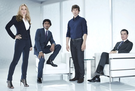 USA renews Covert Affairs for season four/....Seems like we go through men really fast on this show. First there was the brother-in-law, who I'll admit wasn't totally necessary, then Ben, Jay, Eyal, and those are just the top of my head guys. Can't we keep some good guys around for a while. Henry Wilcox needs to go. I never liked him in The Mentalist and don't like him any better in this show.
