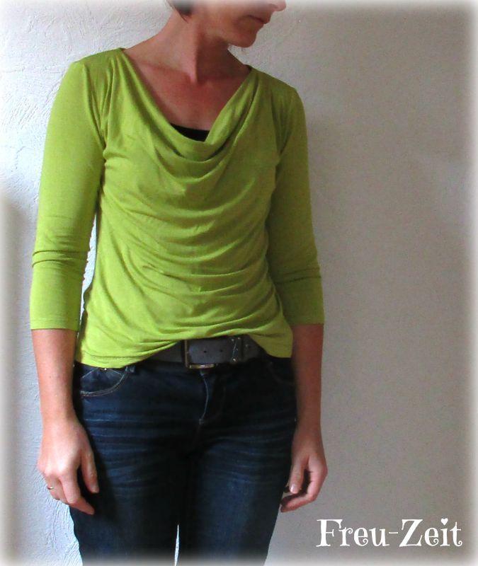 Weil ich zwar gern Kleider und Röcke, aber auch wirklich sehr gern Jeans trage, bin ich immer auf der Suche nach schönen Shirt-Schnitten,...