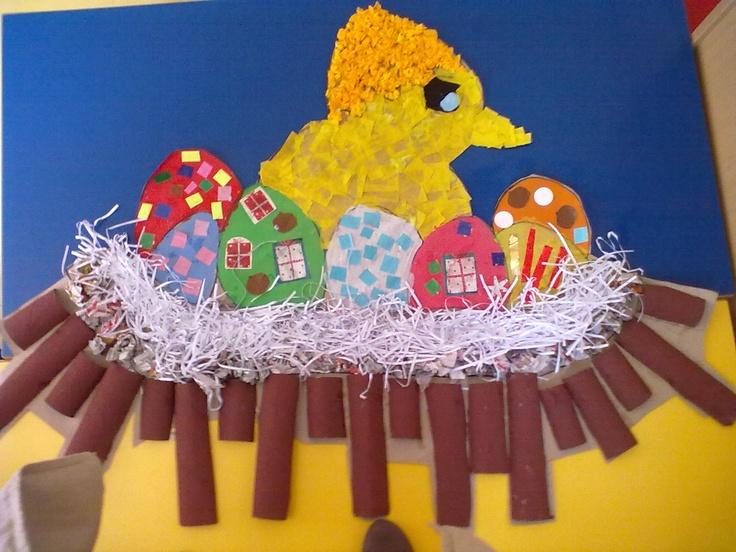 Painel Páscoa - Os ovos Misteriosos