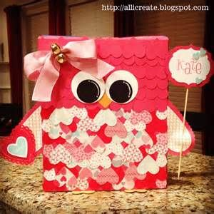 cute owl valentine boxes - - Yahoo Image Search Results