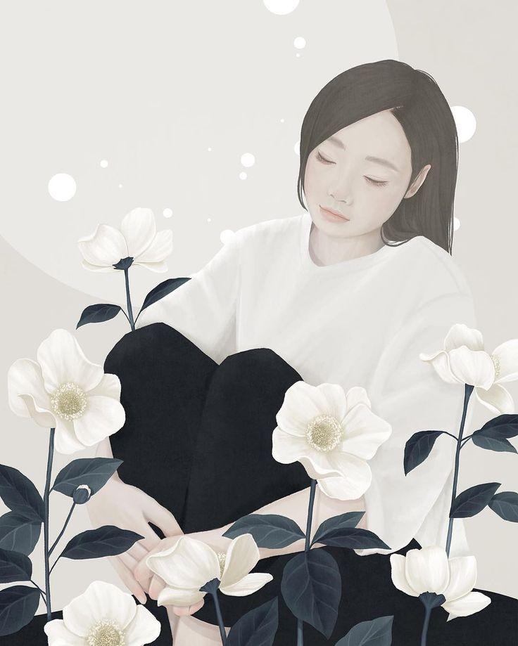Tu recepcja - Illustrations by Mi-Kyung Choi aka Ensee