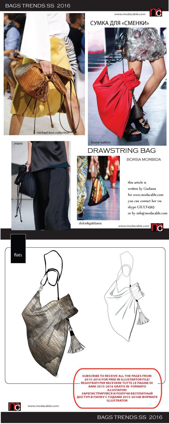 bags trends 2016/2017 only at www.modacable.com sign in to get the access to all of the pages and free access to the vector files 2015/16!!!