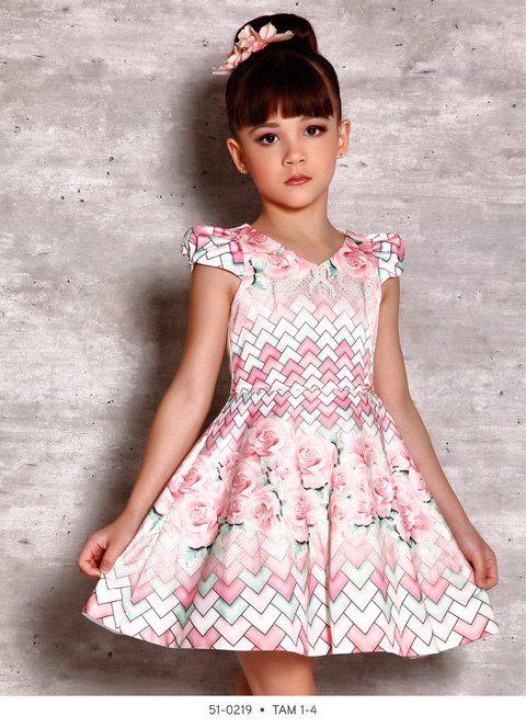 Vestido Infantil Miss Cake Doce Princesa 510219