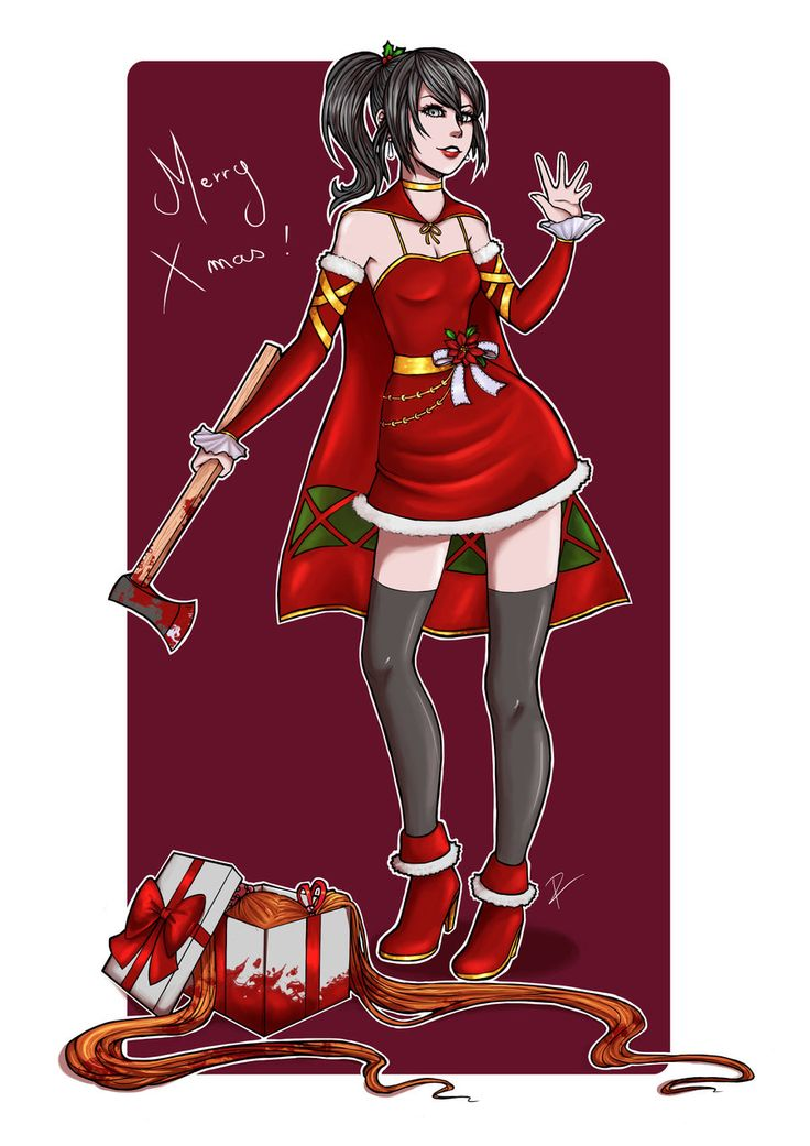 Merry (Yandere) Christmas ! by Lillas40