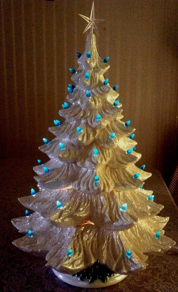 86 Best Ceramic Christmas Trees Images On Pinterest
