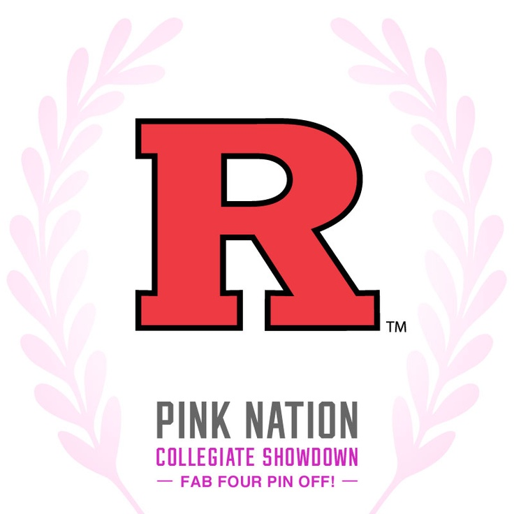 Repin this pic for the chance to win the ultimate PINK campus party at Rutgers!