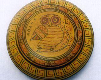 Ceramic plate Hellas