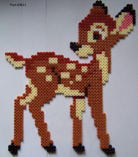 Perle Hama : Bambi