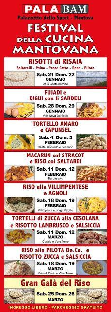 Festival della Cucina Mantovana dal 21 gennaio al 26 marzo Mantova