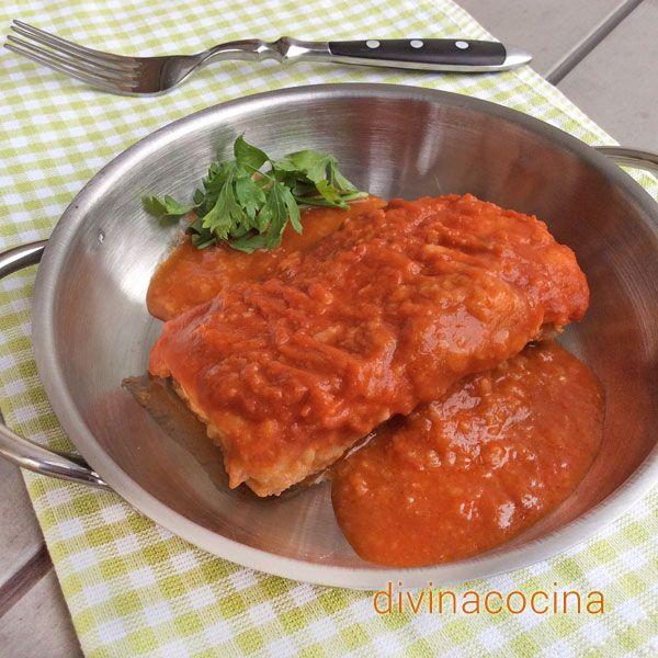 El bacalao a la vizcaína es unos de los grandes clásicos de la gastronomía vasca. Sencilla y siempre sale bien si cuentas con unos buenos lomos de bacalao.