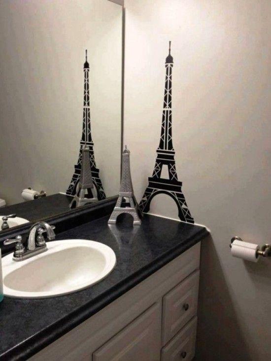 Best 25 paris themed bathrooms ideas on pinterest paris - French themed bathroom accessories ...