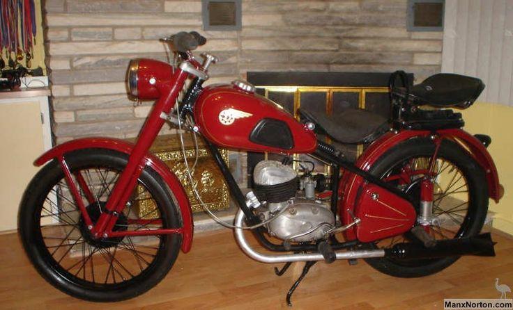 Danuvia Csepel 125cc [Hungary]