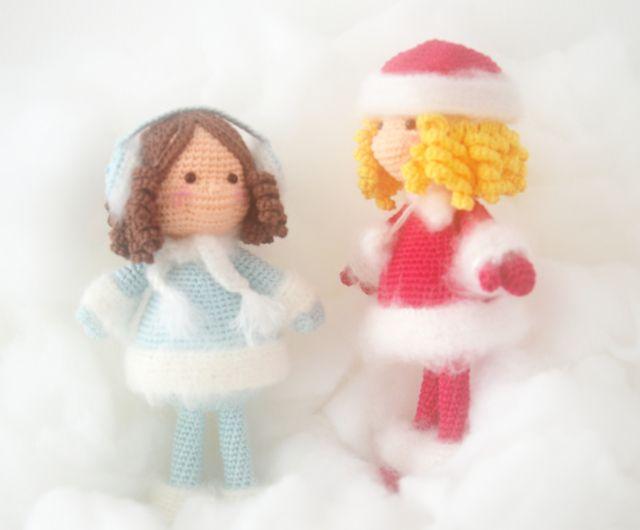Schemi Amigurumi Free Italiano : 220 best amigurumis: navidad. images on pinterest crochet dolls
