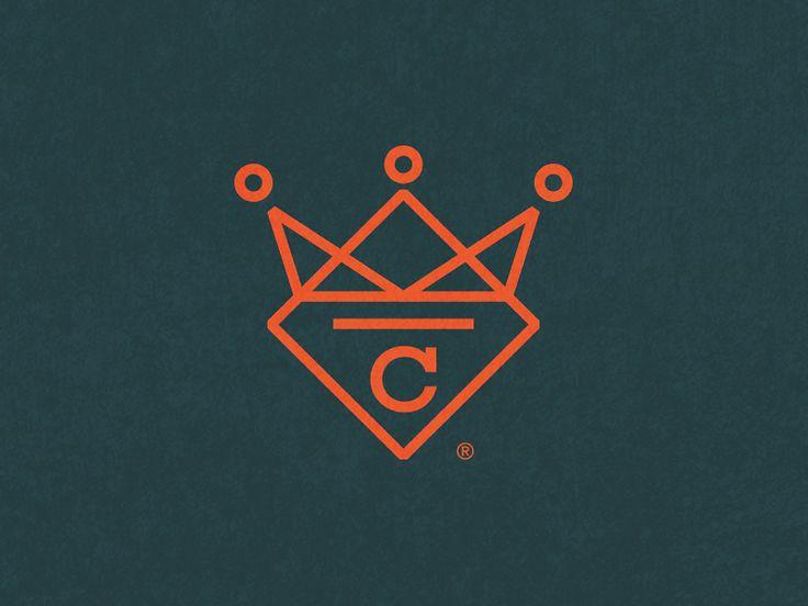 Crown Stone, Logo by Yakup Akdemir #stone #granite #marble #quartz #company #logo