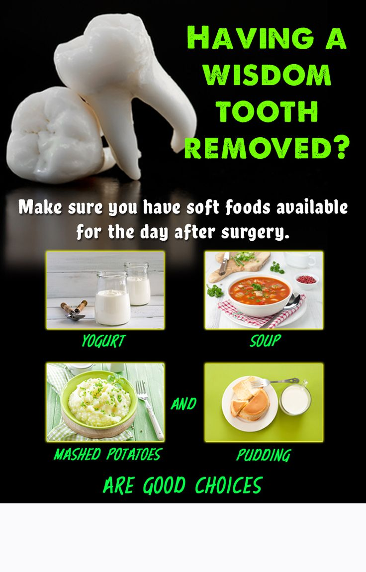 how to take care after wisdom teeth removal