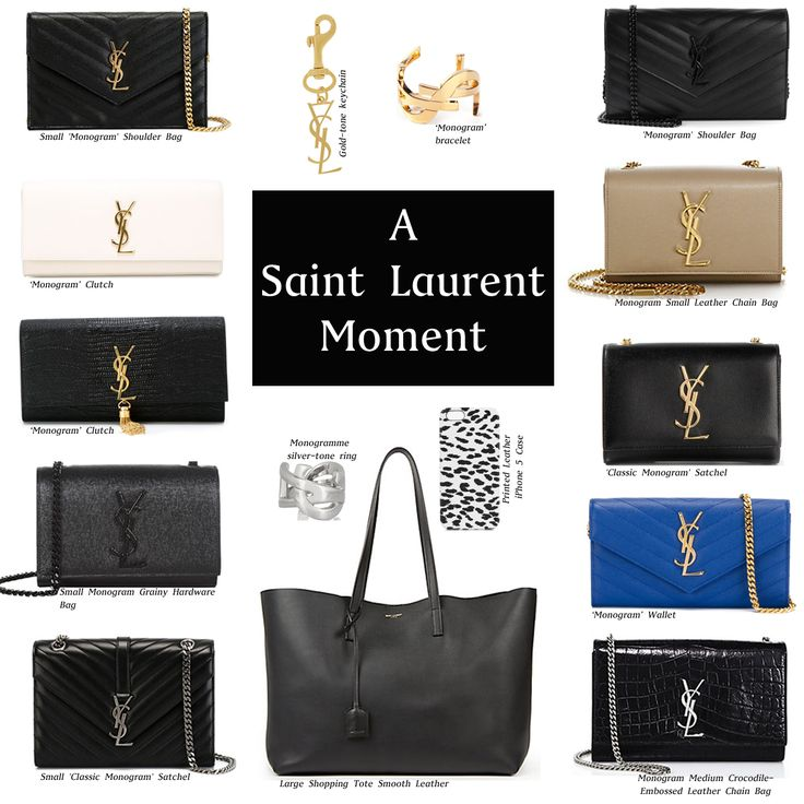 Your luxe Christmas wish list!   Head to What Would Karl Do for more: http://whatwouldkarldo.com/saint-laurent-monogram/
