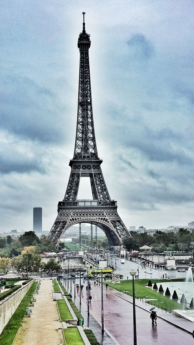 Eiffel Tower from the Trocadero, Paris by @kali_story