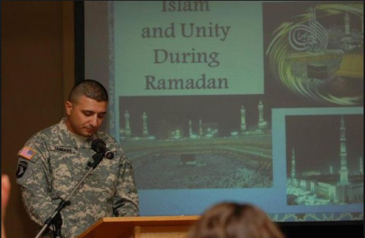 This is SO WRONG !     US Military Personnel forced to Submit to the Sharia during Ramadan - Freedom Outpost