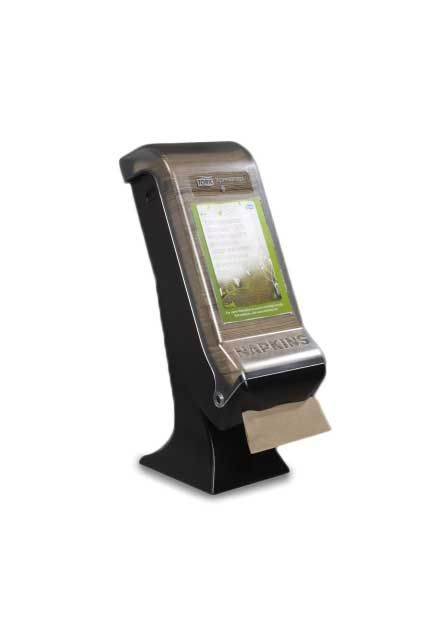 Tork Xpressnap® Stand Napkin Dispenser: Tork Xpressnap® Stand Napkin Dispenser, Black
