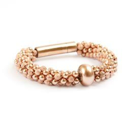 Becharmed Rose Gold Bracelet Free tutorial