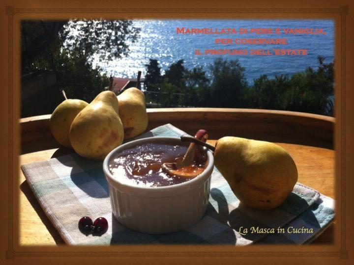 Marmellata di pere alla vaniglia Non potete immaginare quanto sia buona se non la assaggiate!
