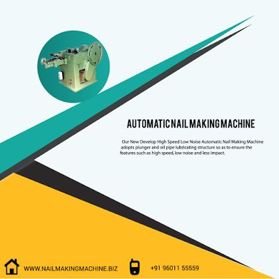 Wire Nail Making Machine: Wire Nail Machine | Nail Making Machine In India
