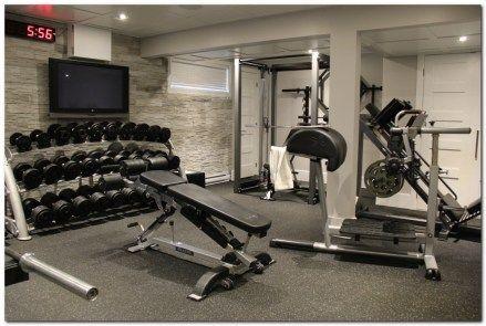 Best 25 Home Gym Garage Ideas On Pinterest Basement